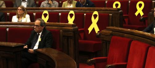 Torra a punto de ser juzgado por los lazos amarillos