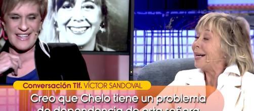 Victor Sandoval en contra de la mujer de Chelo García Cortés