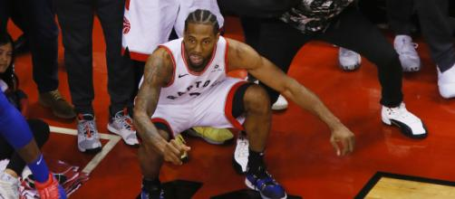 Kawhi Leonard likely to stay with the Raptors - image credit: NBA.com/Youtube Gold