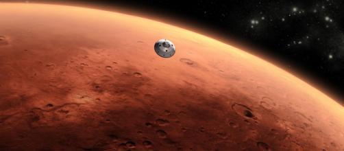 L'acqua su Marte c'è, ma non allo stato liquido