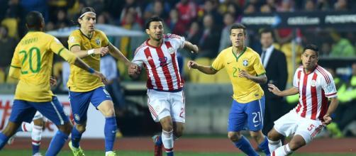 Paraguay vs Brasil   Radio La Red - com.ec
