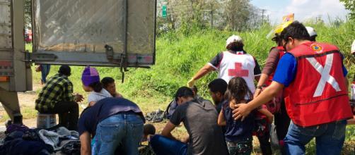 Varias detenciones de migrantes ilegales han realizado las autoridades mexicanas. - elpais.cr