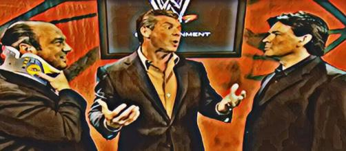 WWE brings back Paul Heyman and Eric Bischoff in new roles. Image credits - YouTube/WWE