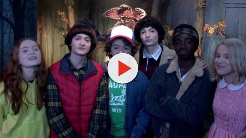 'Stranger Things' cast pranks fans at Madame Tussauds and pop-up arcade in London
