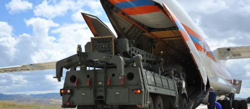 Turkey receives first shipment of Russian missile system Photo-Image credit-( CNN/youtube)