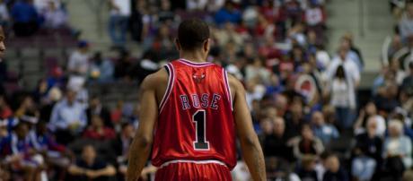 Derrick Rose was named MVP for the 2010-11 season. [Image Source: Flickr | Steve Bumbaugh]