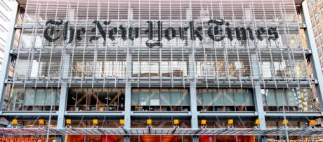 The New York Times headquarters building on the west side of Midtown Manhattan. (Blasting News Database)
