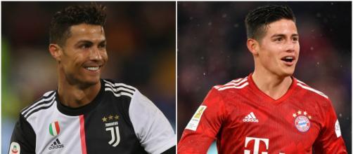 Ronaldo avrebbe contattato James Rodriguez per convincerlo a trasferirsi alla Juve