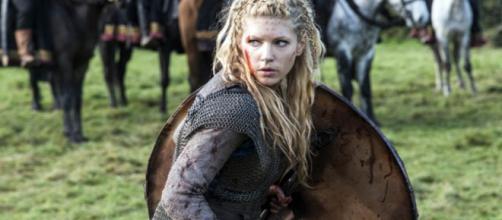 Lagertha se tornou uma das mais famosas da série. (Divulgação/History)