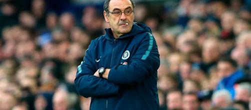 L'ex allenatore del Napoli, Maurizio Sarri, è in rottura con il Chelsea