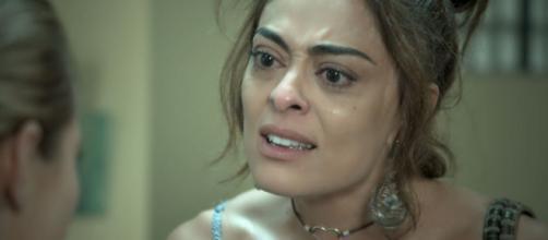 Maria entra em choque com descoberta. (Reprodução/TV Globo)
