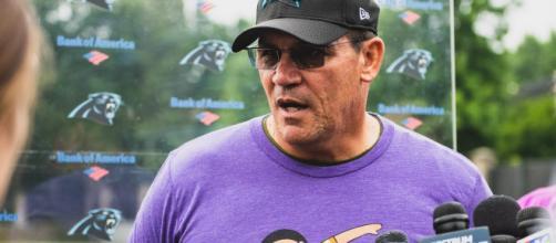 Ron Rivera thinks he's getting Gerald McCoy. [Image via Carolina Panthers/YouTube]