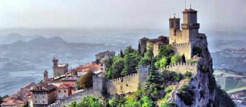 Una vista della Repubblica di San Marino.