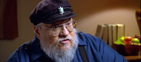 """George R.R. Martin's deadline for """"The Winds of Winter"""" may be once again moved. (Image via Game of Thrones YouTube screenshot)"""