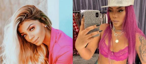 Bruna Gonçalves e Ludmilla assumem publicamente a relação. (Reprodução/Instagram/@brunnagoncalves/@ludmilla)