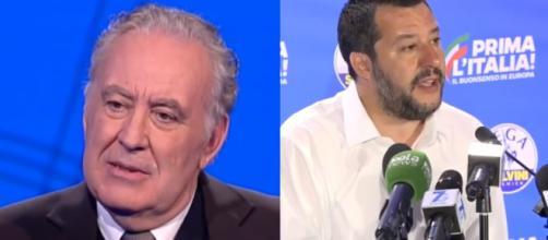 Michele Santoro pubblica un editoriale rivolto a Matteo Salvini