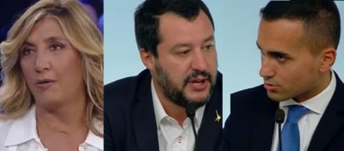 Myrta Merlino vede ombre sulle dichiarazioni di Salvini