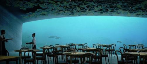 premier restaurant sous l'eau d'Europe