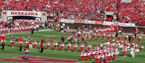 The Huskers are early favorites over a hated rival. [Image via Thundaplaya/Wikimedia Commons]