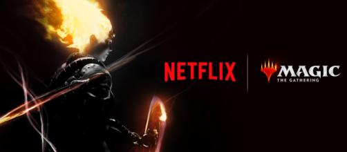 """The Russo Bros. are developing a """"Magic: The Gathering"""" anime series. [Image Credit Netflix/YouTube]"""