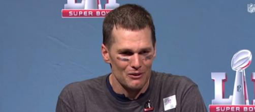 Tom Brady attended the first day of the Patriots' minicamp. - [NFL Network / YouTube screencap]