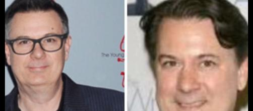 Tony Morina and Josh Griffith promise shocking returns to Y&R. [Image Source: CBS-YouTube]