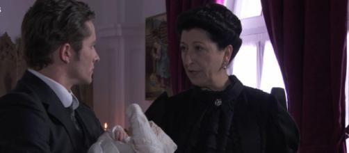 Spoiler Una Vita 10-15 giugno: Ursula negherà a Blanca di aver rapito Moises.