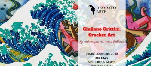 Giuliano Grittini Cracker Art la Cultura Pop tra Mito e Bellezza