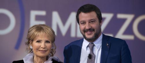 Nuovo scontro tra Lilli Gruber e Matteo Salvini