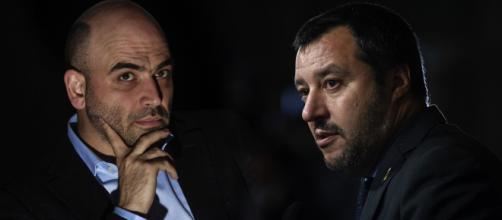 Salvini: il suo 'bacione a Saviano' è considerato una minaccia dal Consiglio d'Europa - polisblog.it