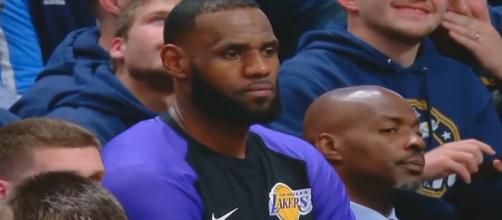 The LeBron era could come to an end based on recent comments about the Lakers' offseason. [Photo via NBA/SportsNet/YouTube]