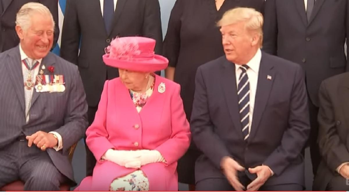 The Queen, Donald Trump, and other world leaders pay