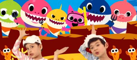 Attention, kids and beware, parents: Nickelodeon is developing a 'Baby Shark' animated series. [Image Source: Pinkfong!/YouTube/Screenshot]