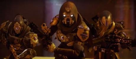 Bungie's next chapter will be revealed today. [Image source: Ginsor DestinyMining/YouTube]
