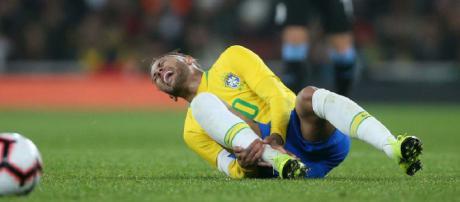 Copa America 2019 : Neymar blessé lors du match contre le Qatar mercredi