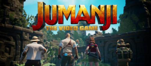A 'Jumanji' videogame is coming this year, one month before the third movie premieres. [Image source: PlayStation/YouTube/Screenshot]