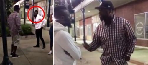 Curtis '50 Cent' Jackson nearly gets into altercation with aspiring rapper during date. - [Image source: The Score/YouTube screencap]
