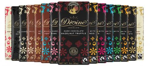 Divine Chocolate is a chocolate company with a strong sense of social conscious. / Image via Liz Miller, used with permission.