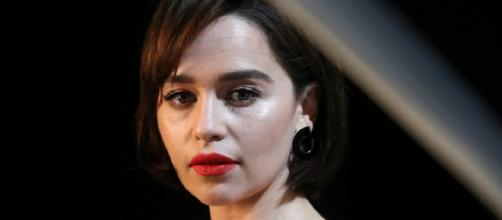 Emilia Clarke believes being Daenerys on 'Game of Thrones' saved her, but she regrets one thing too. [Image source: Variety/YouTube/Screenshot]
