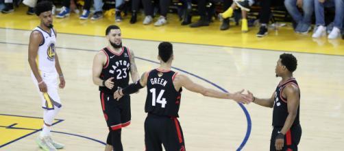 Los Raptors aprovecharon las bajas de los Warriors. - raptorsrapture.com