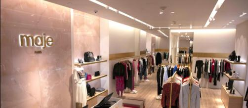 maje robe outlet societe.com