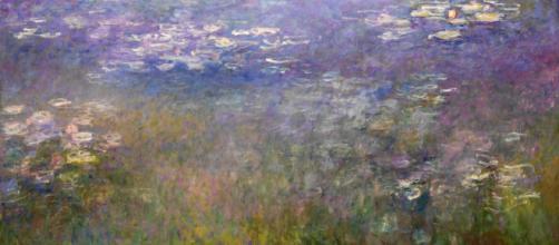 Una tela del ciclo delle 'Ninfee' di Claude Monet