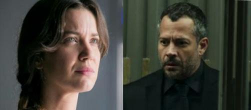 Agno e Fabiana em 'A Dona do Pedaço'. (Reprodução/TV Globo)