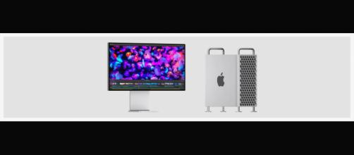 Apple's latest Mac Pro has a 'cheese grater' CPU tower aesthetic