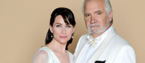 I due attori sempre meno presenti nella soap. (foto - cbs.com)