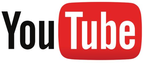 Il logo della piattaforma social YouTube.