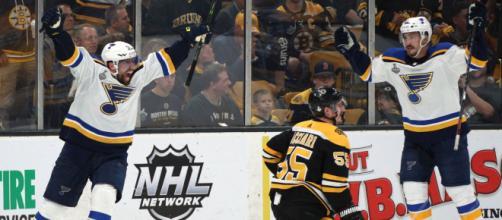 Los Blues se robaron el Juego 5 en Boston y están a un juego de la Stanley Cup. - nypost.com