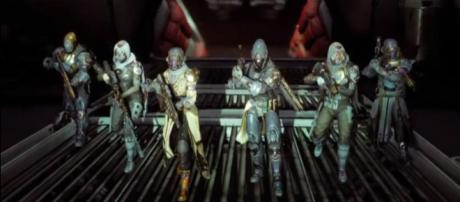 Getting ready for the Menagerie. [Image source: Ginsor DestinyMining/YouTube]