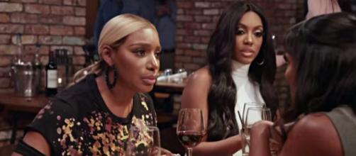 A rep for NeNe Leakes straightens out rumor about Porsha Williams issue. - [Image source: Bravo/YouTube screencap]