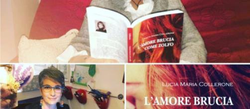 L'amore brucia come zolfo: romanzo storico dalle sfumature rosa di Lucia Maria Collerone